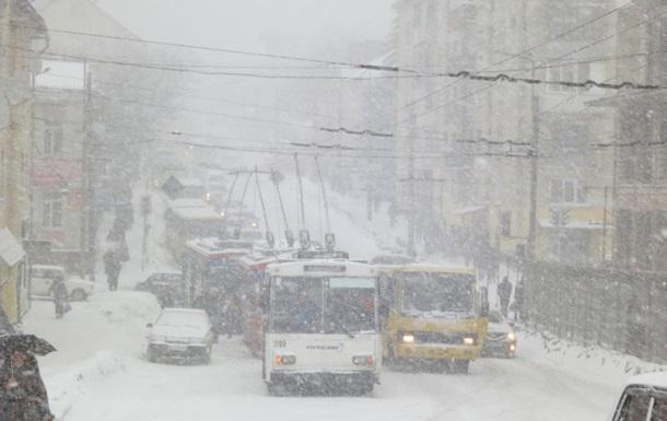 Россия попросит Украину расчистить от снега приграничные дороги