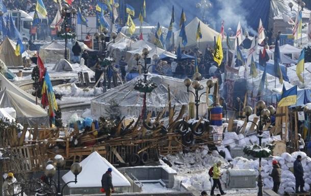 Массовые протестные акции в центре Киева были заранее спланированы – МВД