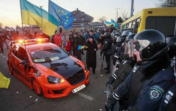 МВД Украины объявило в розыск активистов Автомайдана
