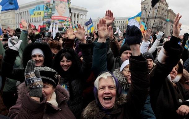 Тягнибок зовет украинцев на очередное воскресное вече