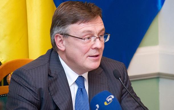 Кожара обсудил с главой МИД Словакии вопрос урегулирования политического кризиса в Украине