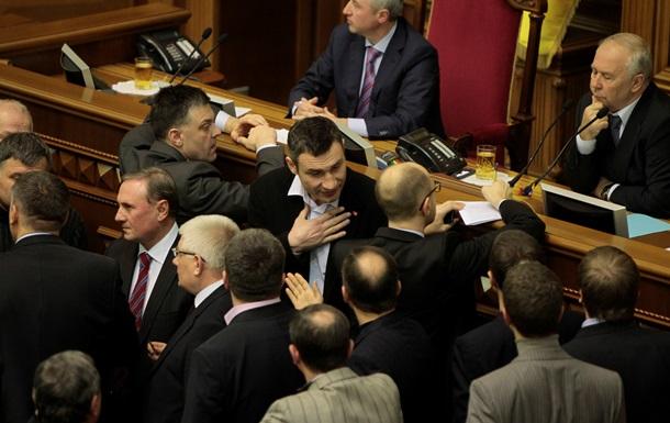 Ъ: Верховная рада отстояла конституцию