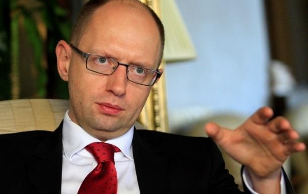 Яценюк готов возглавить Кабинет министров, сформированый из представителей оппозиции