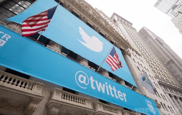 На бирже США рухнули акции Twitter