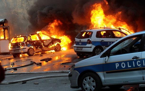 В Сараево, где проходили акции протеста, воцарилось спокойствие