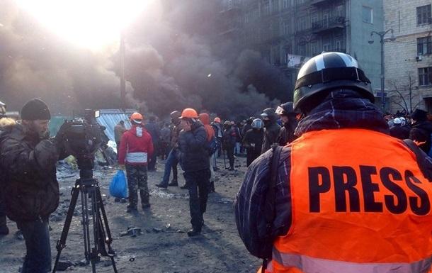Польские журналисты собирают средства для пострадавших во время протестов украинских коллег