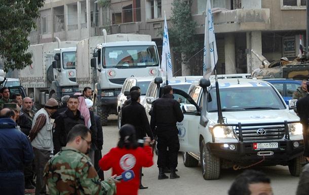 Более 600 мирных жителей покинули сирийский Хомс