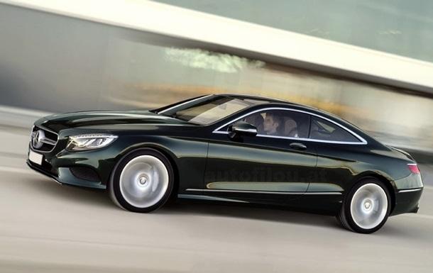 В Сети появилось первое изображение нового купе Mercedes-Benz S-Class
