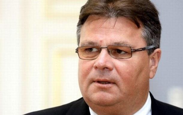 Если ситуация в Украине ухудшится, ЕС может быстро отреагировать санкциями - МИД Литвы