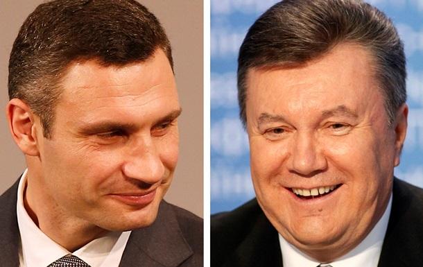 Янукович готов провести телевизионные дебаты с Кличко