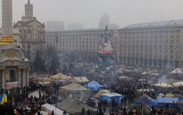 За ночь на Евромайдане произошло два нападения на людей - МВД