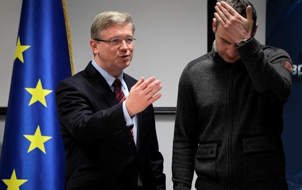 Анонсы на 12 февраля: Фюле в Киеве и «коктейли Молотова» у представительства ЕС
