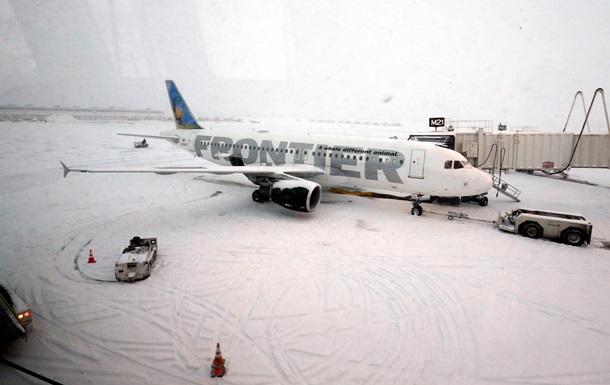 Снежная буря в США перекинулась на юг страны