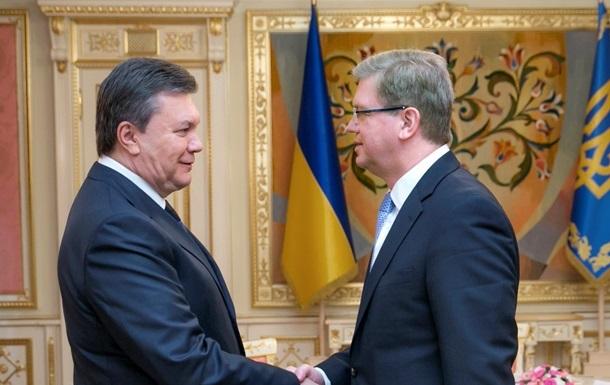 Фюле назвал условия кредита Украине, но отказался говорить о сумме