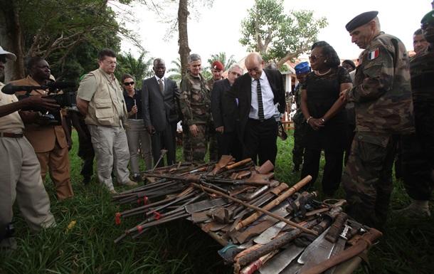 Миротворцы забрали оружие у повстанцев в ЦAP
