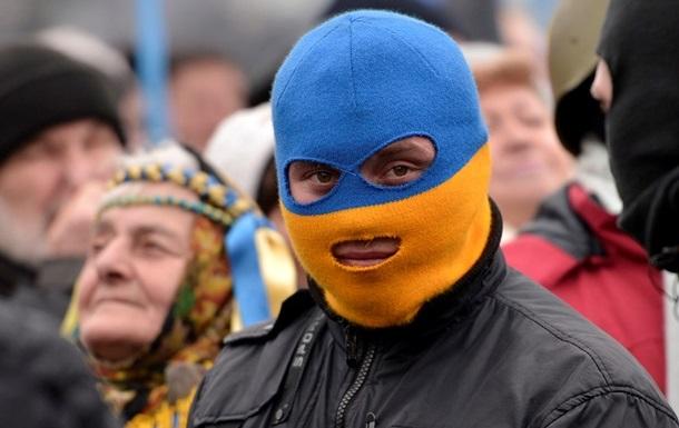 Активисты в Праге поддержали киевский Майдан Еврошествием
