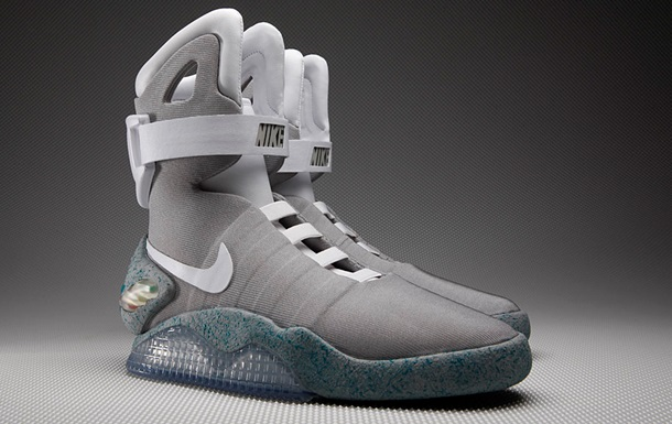Nike обещает выпустить кроссовки из фильма Назад в будущее в 2015 году