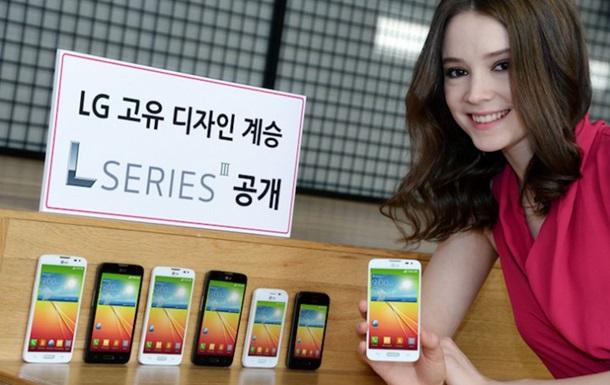 LG представил три новых бюджетных смартфона