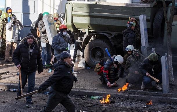 В Киеве в столкновениях за последние сутки погибли более 20 человек