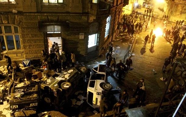 Милиция возбудила почти 40 дел, связанных с массовыми беспорядками в Украине