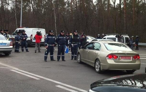 Блокада Киева: ситуация на дорогах при въезде в город