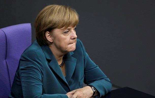 Меркель назвала события в Украине «шокирующими» и призвала к санкциям