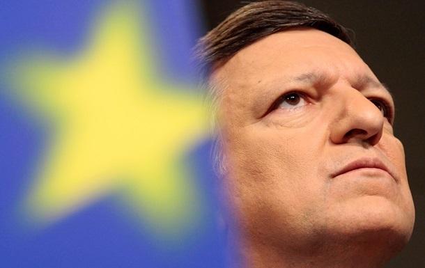 Янукович пообщался по телефону с президентом Еврокомиссии