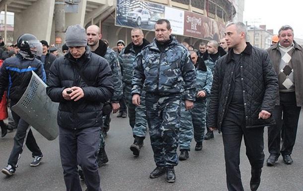 Тернопольский Беркут отказался воевать и самовольно покинул центр Киева