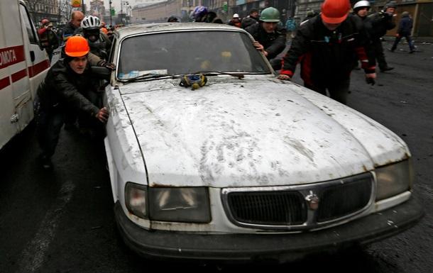 За ночь в Киеве сгорело 15 автомобилей - ГСЧС