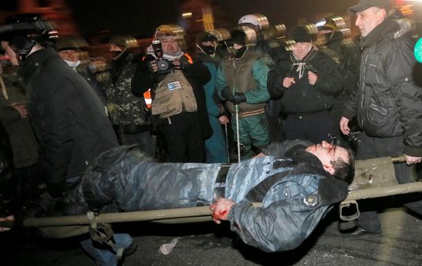 МВД заявляет о 13 погибших правоохранителях и 130 получивших огнестрельные ранения