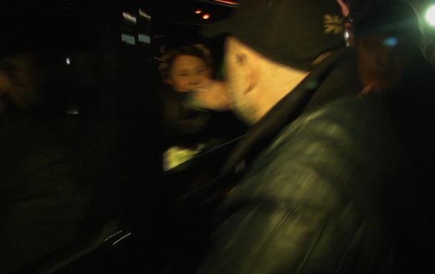 Тимошенко вылетела в Киев