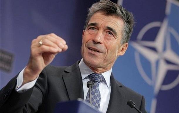 Расмуссен: НАТО - друг украинского народа
