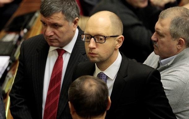 В состав правительства народного доверия должны войти представители Майдана - Яценюк