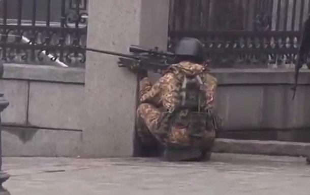 На Институтской снайперы стреляли из британских винтовок - оружейный эксперт