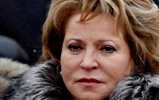 Сценарий силового вмешательства РФ в Украину исключен – спикер Совета Федерации
