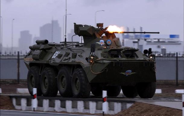 У зданий Черноморского флота в Крыму выставлены БТРы - ТВ