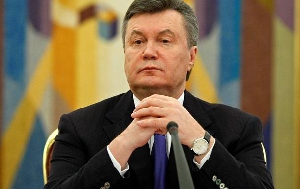 Россия не получала запрос на розыск Януковича