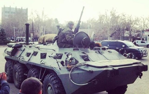 ЧФ РФ пока не дает объяснение передислокации семи БТР в Крыму