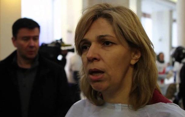 Ольга Богомолец отказалась от всех должностей в Кабмине