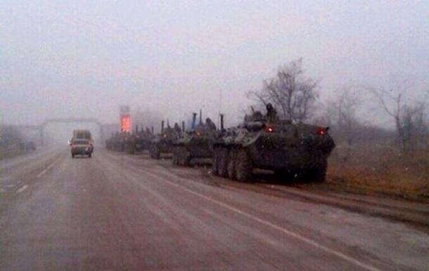 ГАИ Крыма не подтверждает информацию о БТРах близ Симферополя