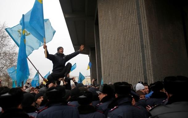 Захватившие админздания в Крыму не являются спецподразделением - нардеп