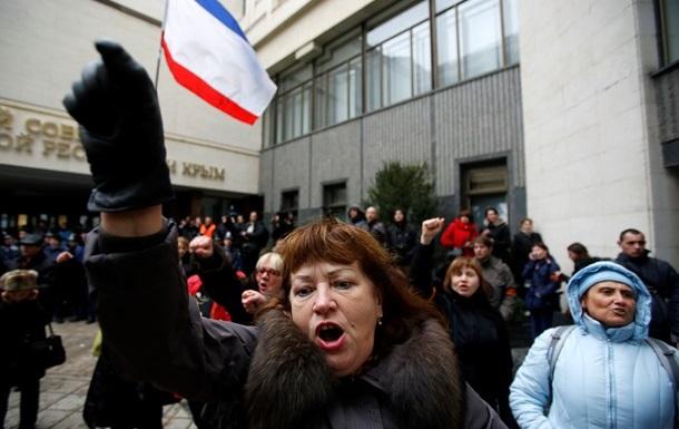 В Крыму остановлено движение автобусов
