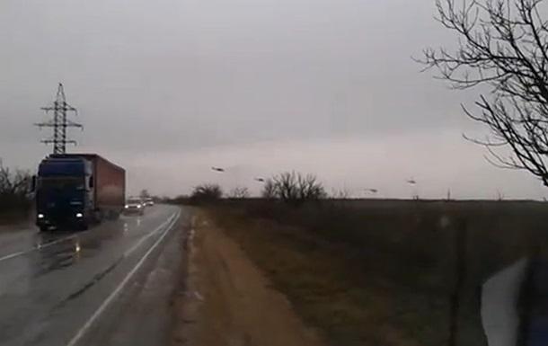 Российские военные вертолеты пересекли границу Украины – погранслужба