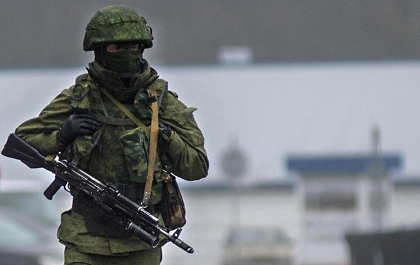 Захватчики Крыма: без номеров и знаков различия