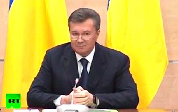 Янукович вернется в Украину, когда ему и его семье будет обеспечена безопасность