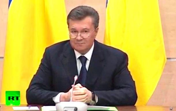 Янукович рассказал о своих передвижениях по Украине после исчезновения