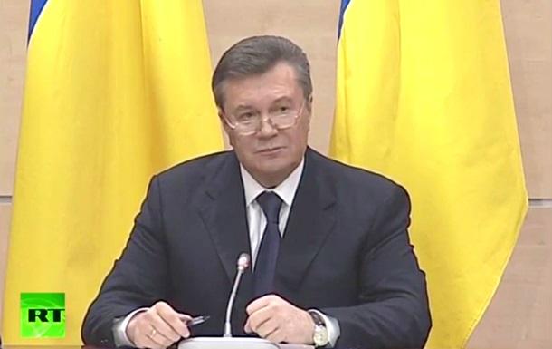 Янукович: Я никогда не отдавал приказов милиции стрелять по людям