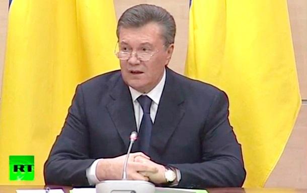 Народ определит политическое будущее Тимошенко - Янукович