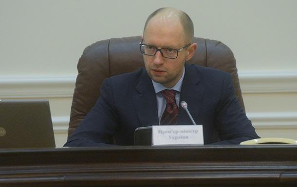 Яценюк поручил министрам наладить контакты с российскими партнерами