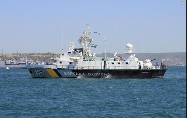 Пограничные корабли Украины по боевой тревоге выходят в море